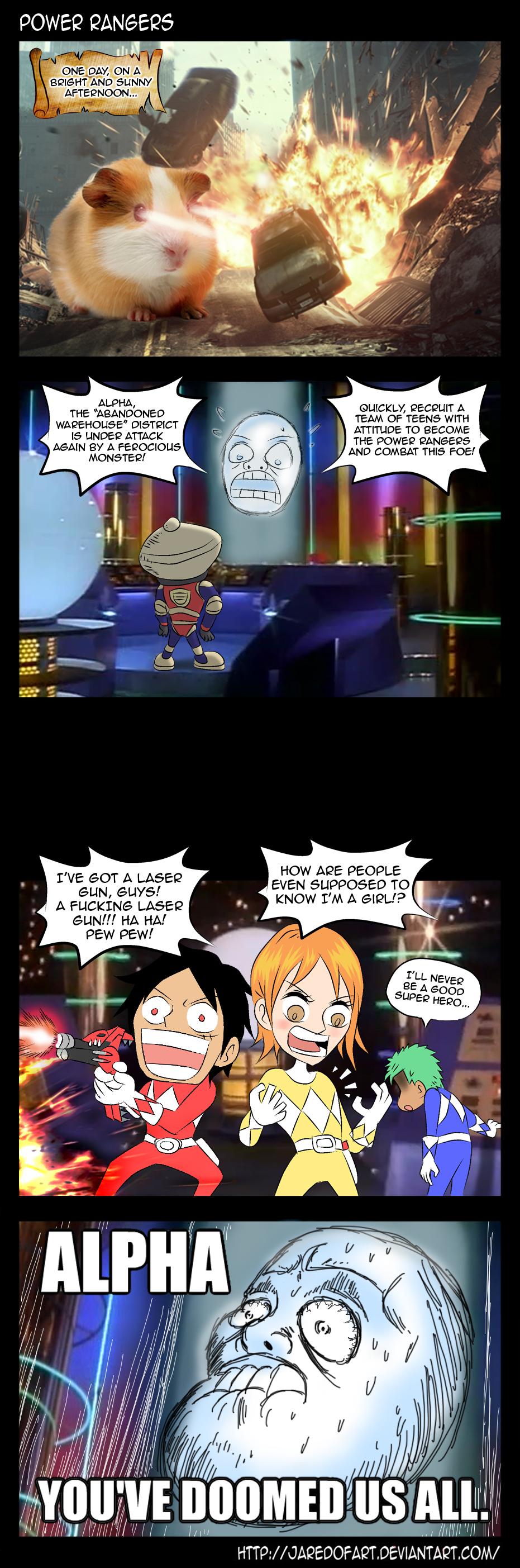 Special - Power Rangers by JaredofArt