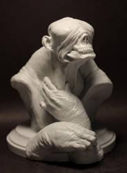 Mr Wrinkles - 3/4 view by Jengabean