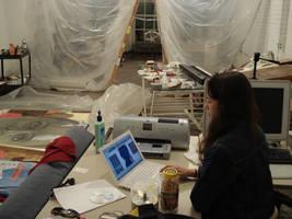 slava in my studio