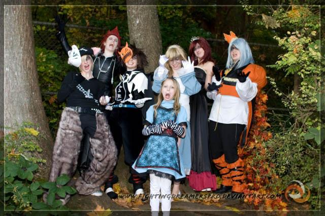 Kingdom Hearts Halloween Stare by FightingDreamersPro