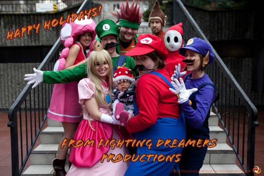A Mario Party Xmas by FightingDreamersPro