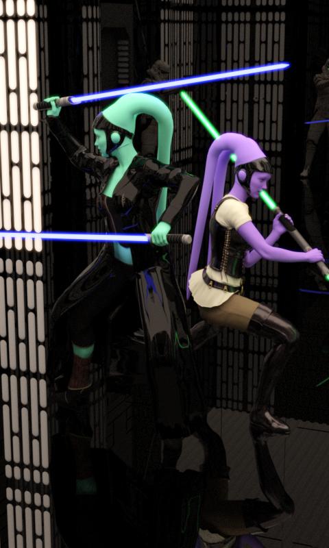 2 Jedi by Rogue7