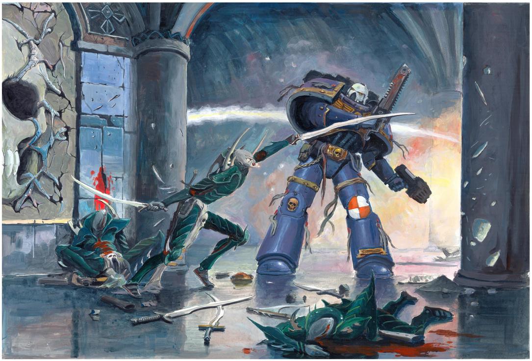 Vanguard veteran by SprigganE