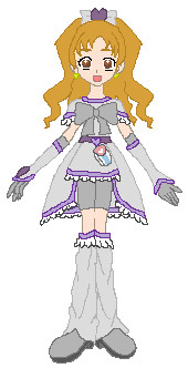 Pretty Cure OC - Cure Silver by Anime1423