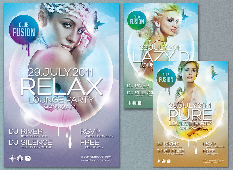 Free Poster,  Flyer PSD