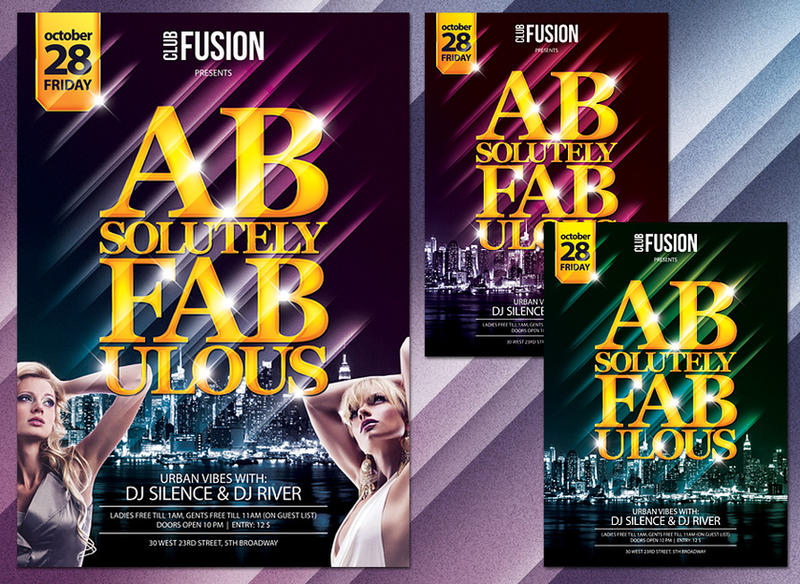 Free Flyer Poster Template PSD