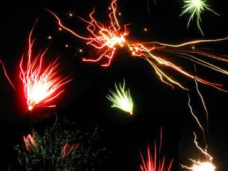 Fireworks Wallpaper by Lauriel-Moonlight