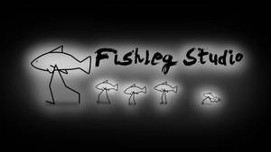 Fishleg Studio fish family wallpaper