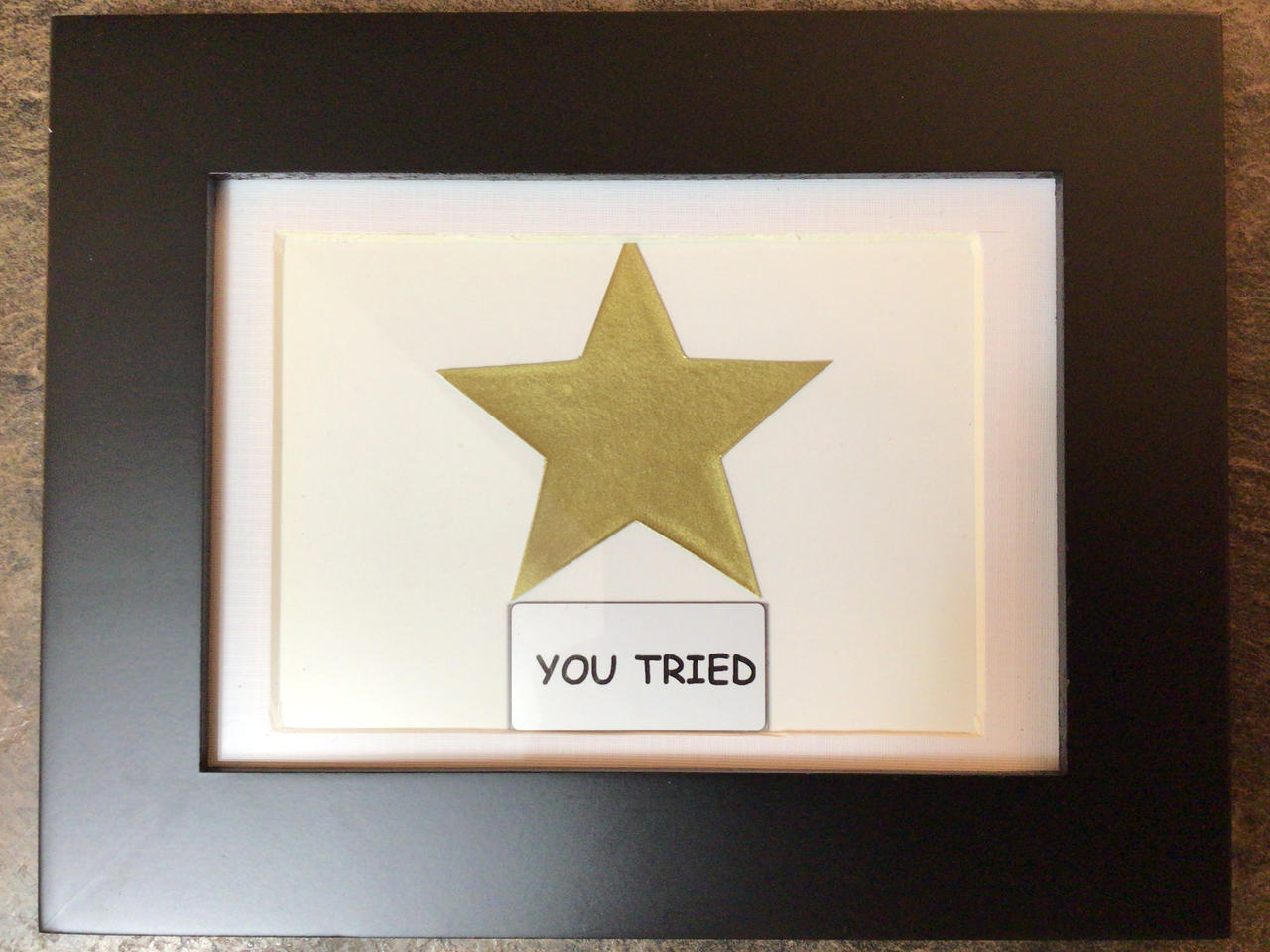 You Tried, Gold Star