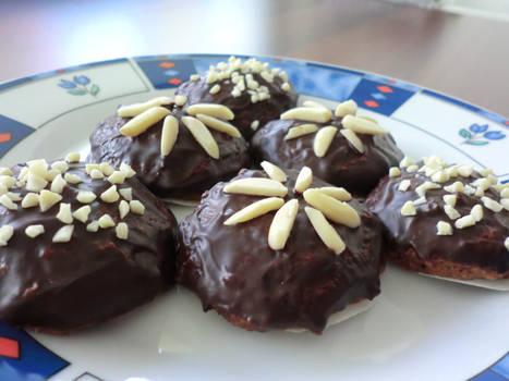 Dark Chocolate Lebkuchen Cookies
