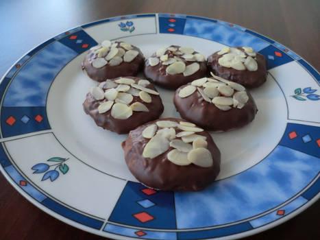 Milk Chocolate Lebkuchen Cookies