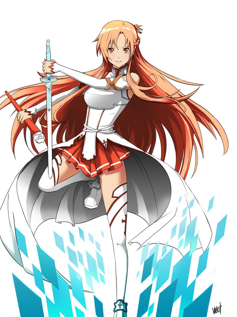 Asuna sword art online by vaghot