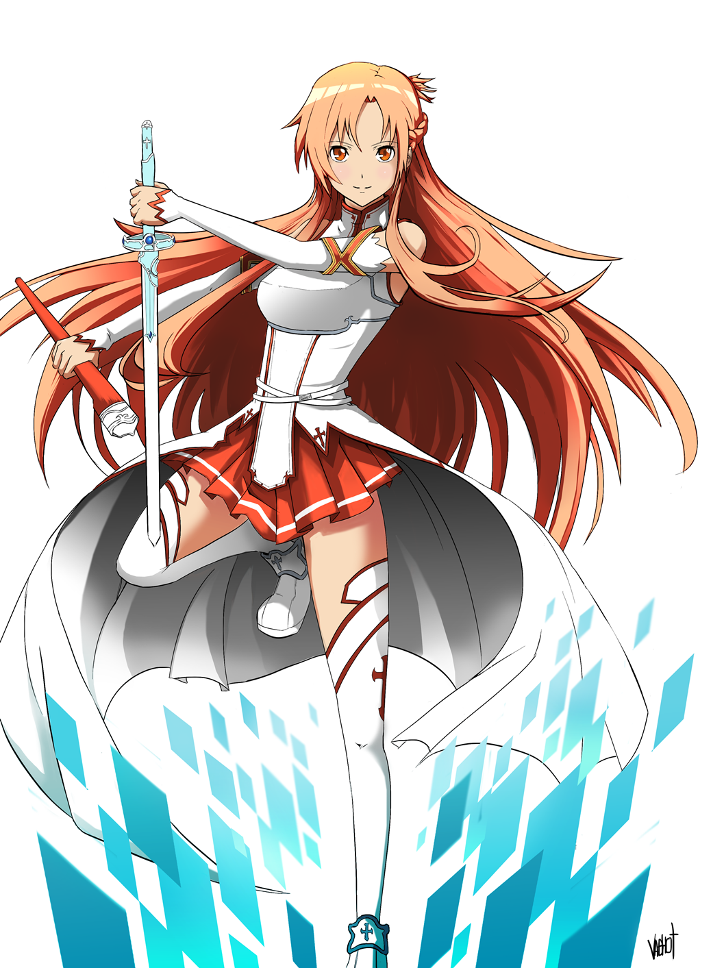 Asuna sword art online by vaghot