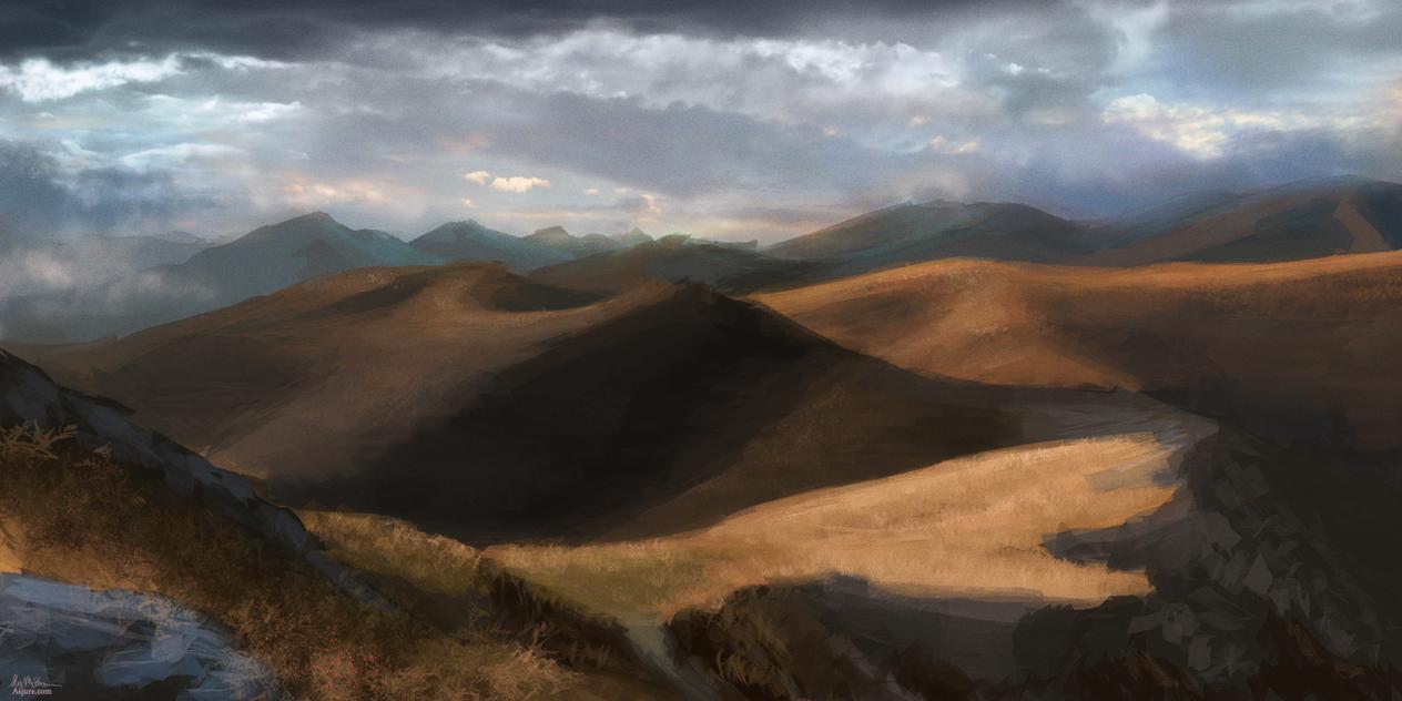 Rolling Hills by Xaishi