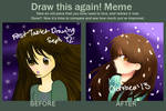 Draw This Again Meme - Now VS First Tablet Drawing