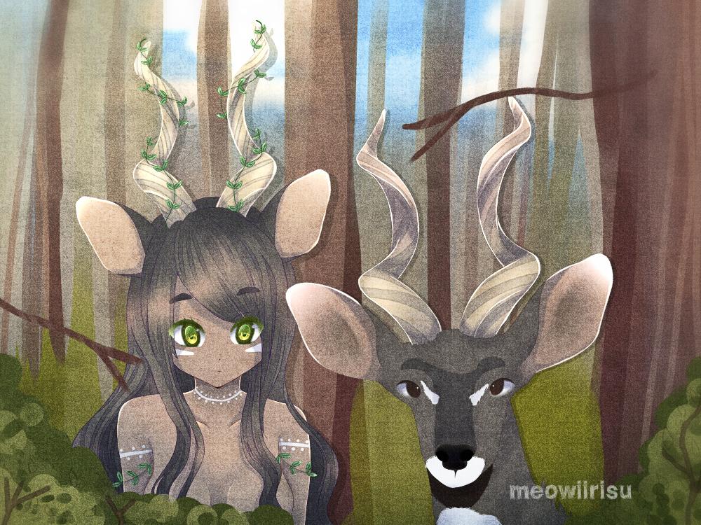 Kudu by MeowiiRisu