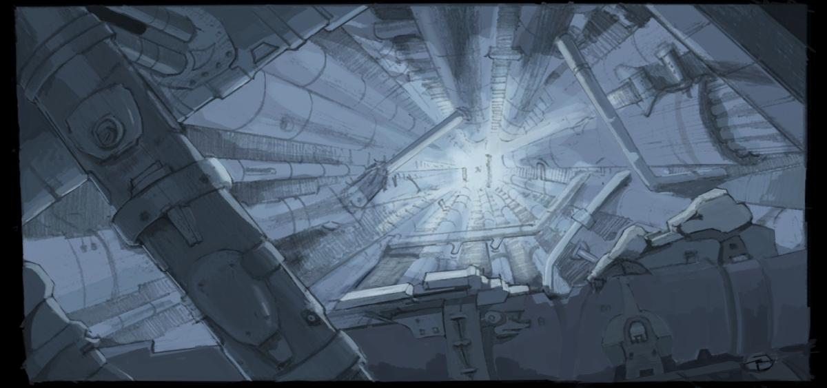 Death Star Interior By Neldrion On Deviantart