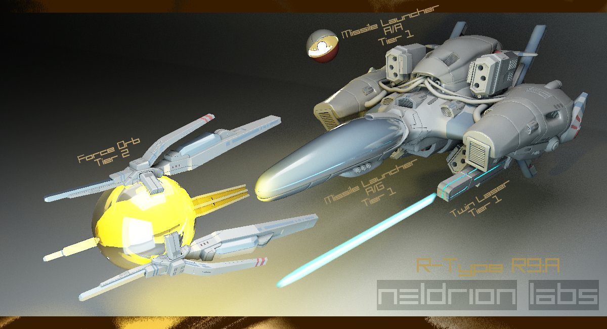 R-Type Update by Neldrion