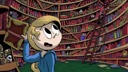 Library Shenanigans