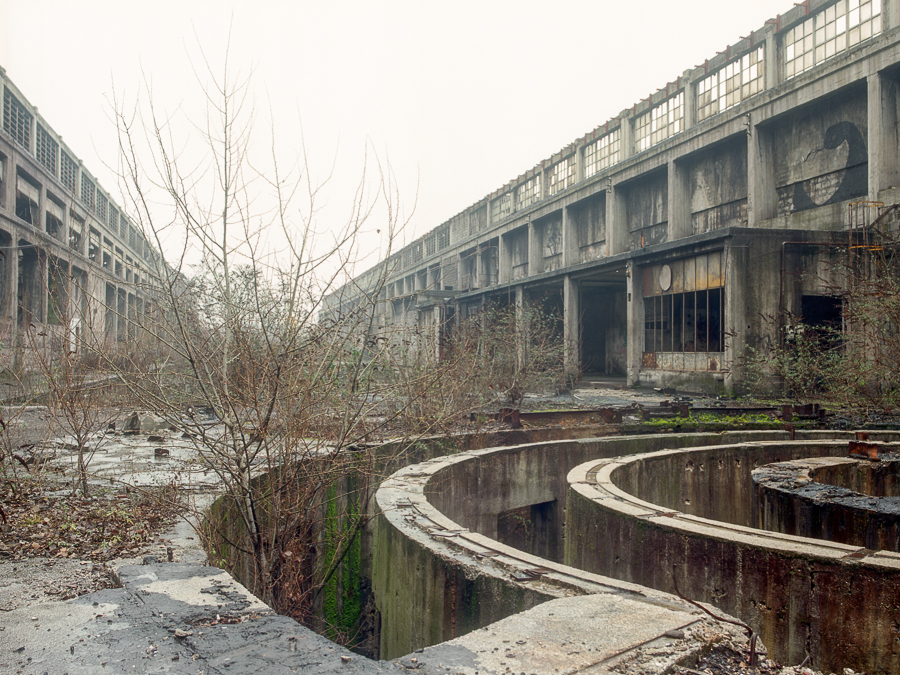 Abandoned steel plant by soho42