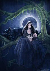 The dark night by laura-csajagi