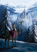 Ice queen castle by laura-csajagi