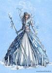 snow queen concept
