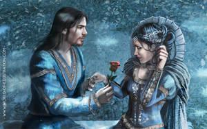Blue beard - lovers (close up) by laura-csajagi