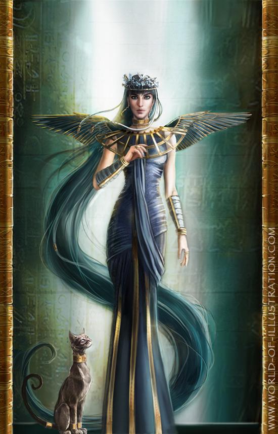 queen egyptian art wallpaper - photo #24