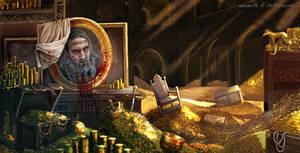 Blue-Beard's treasure room
