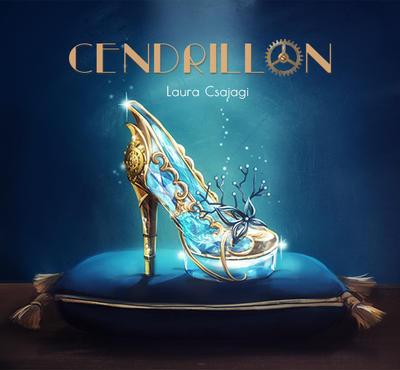 Cinderella Glass Slipper by laura-csajagi