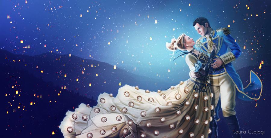 Cinderella dancing by laura-csajagi