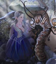 Alice in Wonderland by laura-csajagi