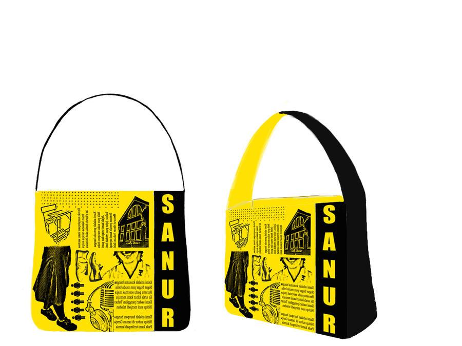 School's Handbag design 2 by dievegge