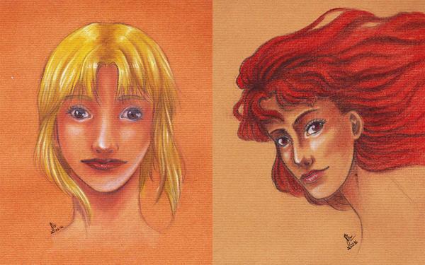 Sabrina and Valdeka by dievegge