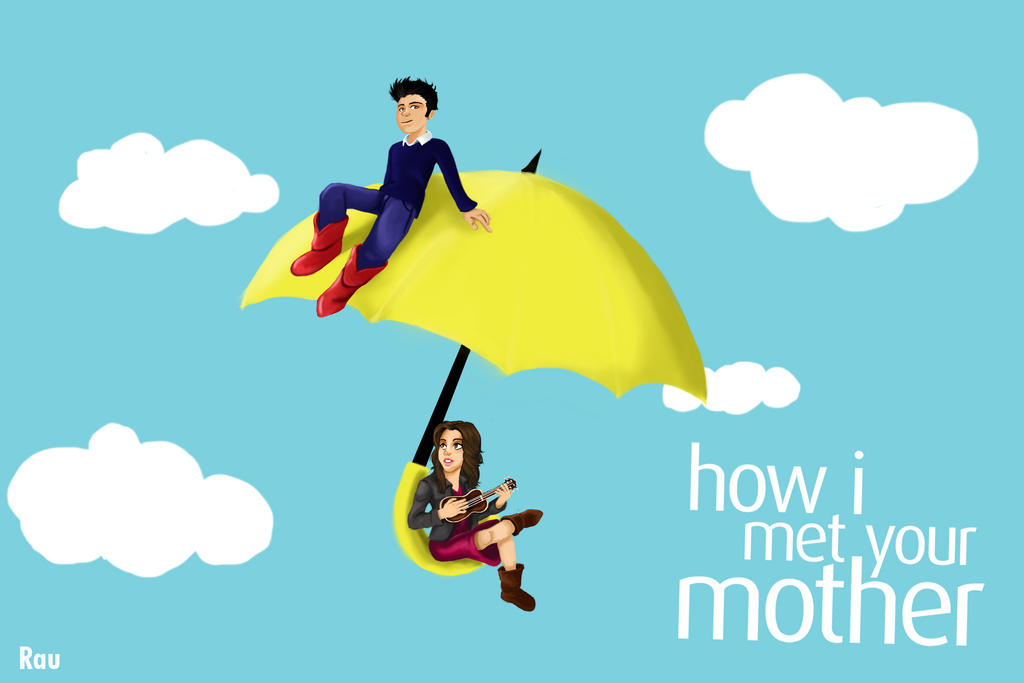 Yellow Umbrella How I Met Your Mother Poster Yellow Umbrella HIMYM by