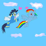 The flight of love by SuperSmashCynderLum