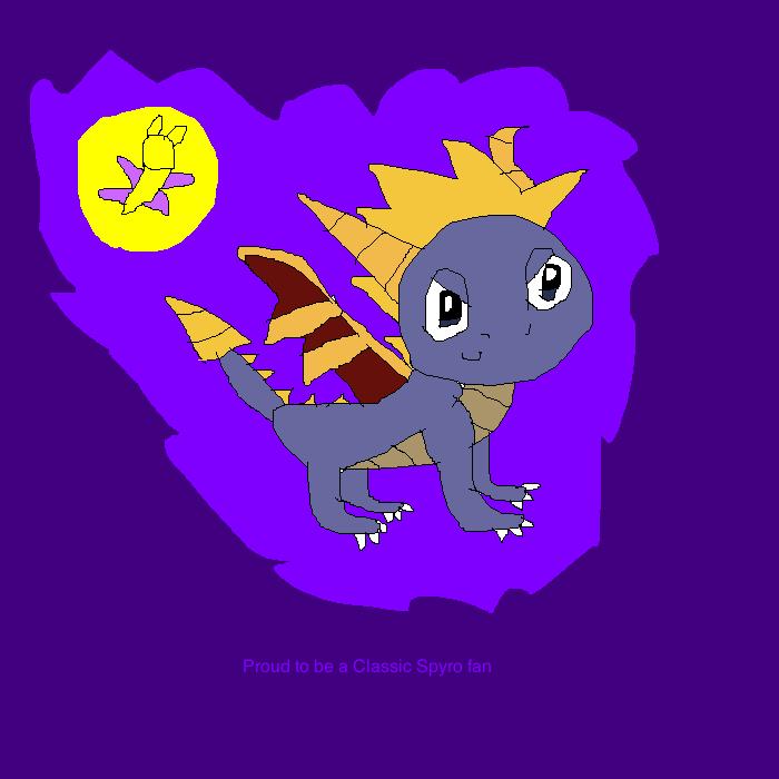 Classic Spyro pride by SuperSmashCynderLum