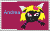 Andrea stamp by SuperSmashCynderLum