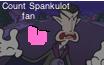 Count Spankulot stamp by SuperSmashCynderLum