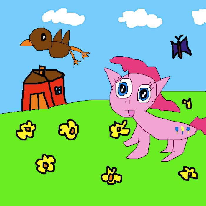 Yay! Birdies and Butterflies! by SuperSmashCynderLum