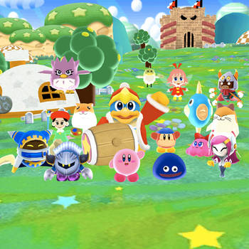 Kirby 25th Aniversery pic by SuperSmashCynderLum