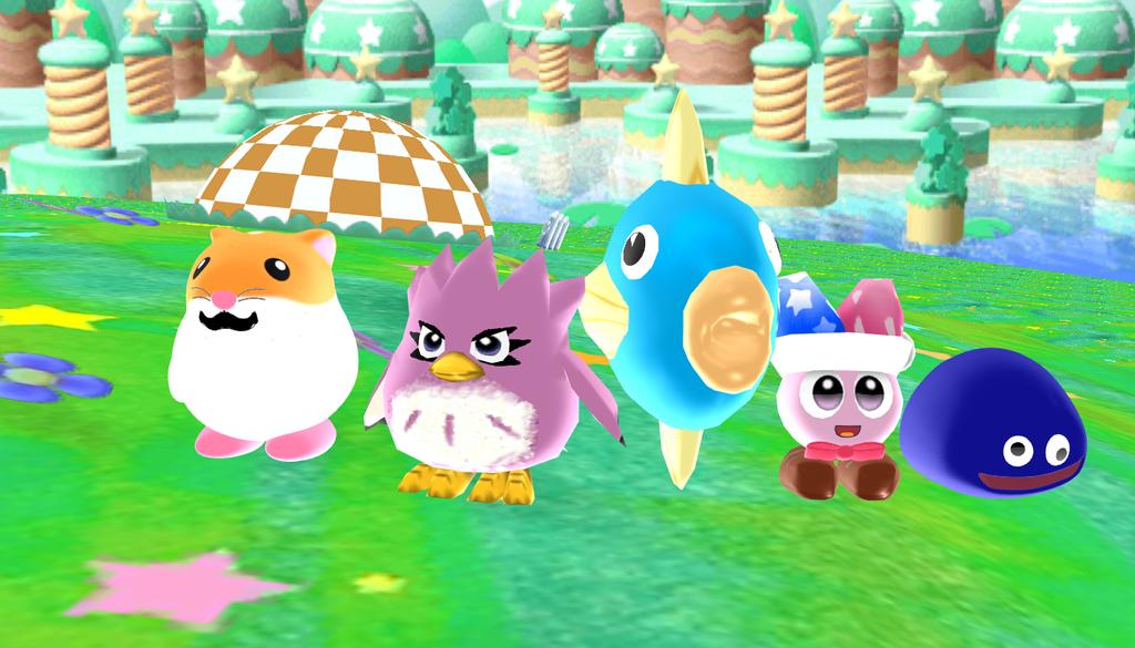 First DLC buddies by SuperSmashCynderLum
