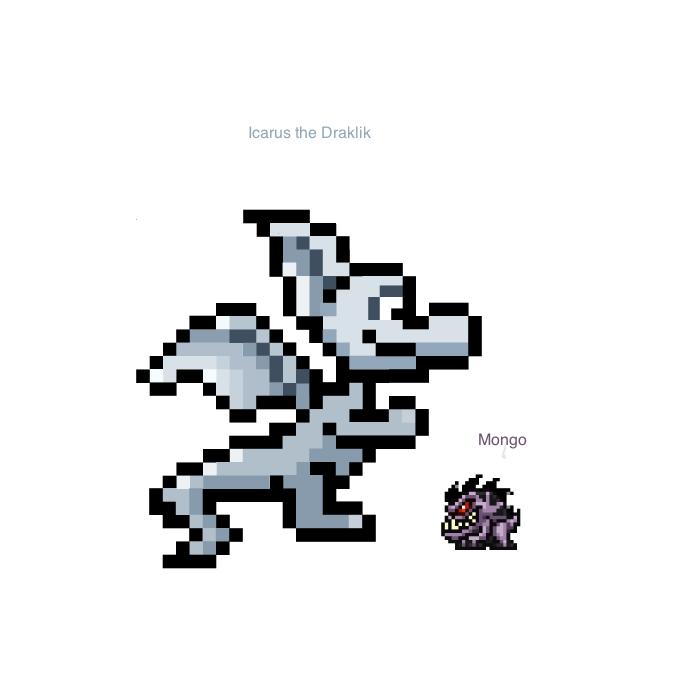 Icarus and Mongo by SuperSmashCynderLum