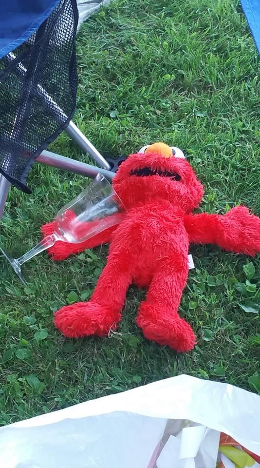 Drunk Elmo by SuperSmashCynderLum