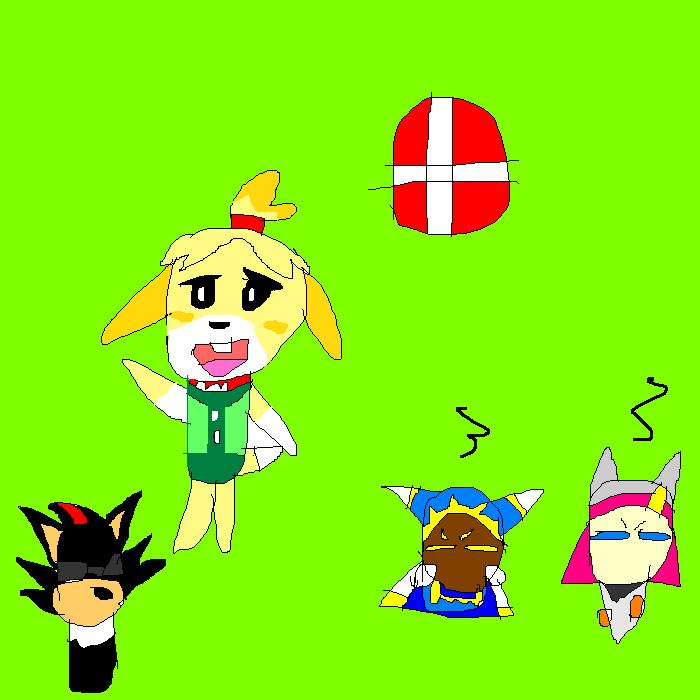 Isabelle for Smash by SuperSmashCynderLum