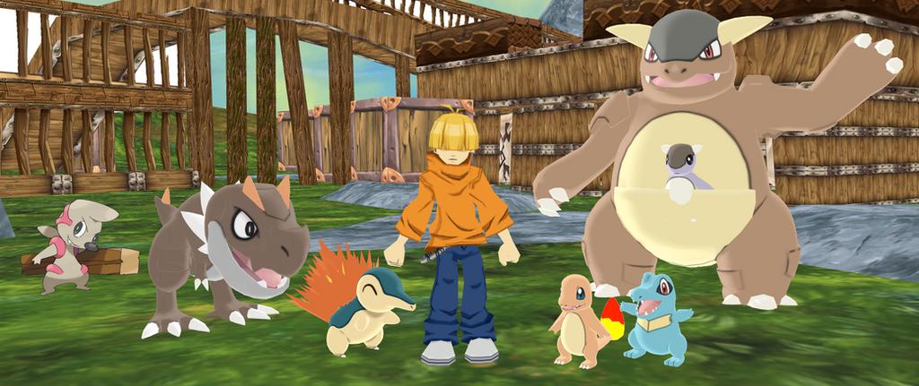 Numbuh 4's Pokemon Team by SuperSmashCynderLum