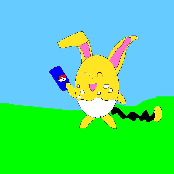 Wanna see my rare Pokemon card by SuperSmashCynderLum