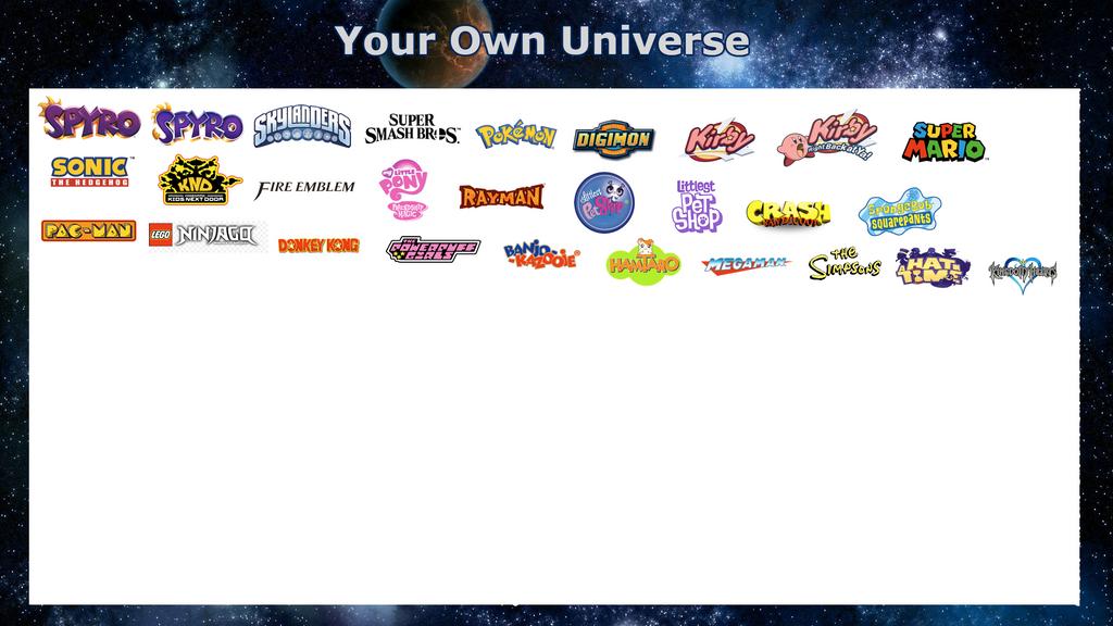 My own Univere meme by SuperSmashCynderLum