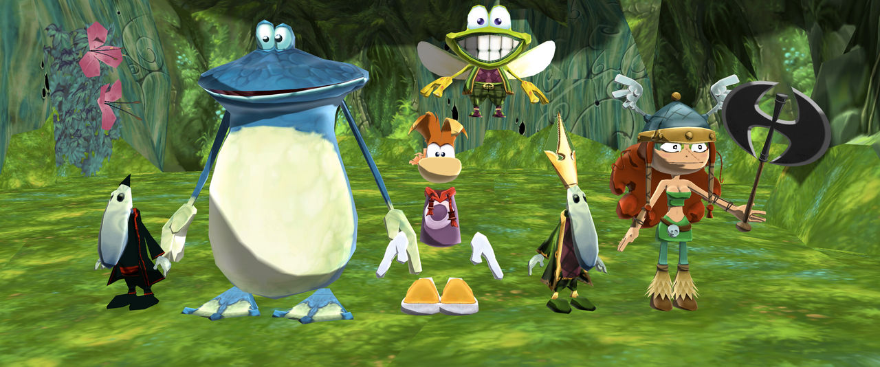The complete Rayman gang by SuperSmashCynderLum